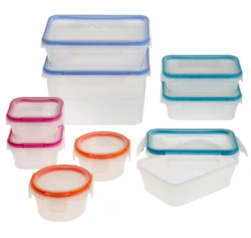 Snapware 18-Piece Total Solution Food Storage Set,  Plastic (Easy Lock Food Containers compare prices)