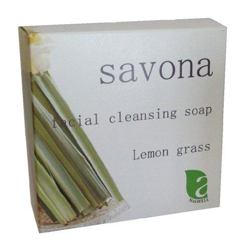 日本国内産サボテンエキス配合、天然由来成分使用 無添加洗顔石鹸 レモングラス 税送料込
