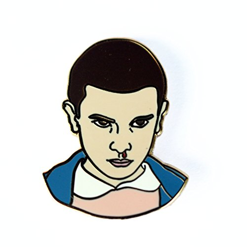 Eleven Enamel Pin Inspired by Stranger Things
