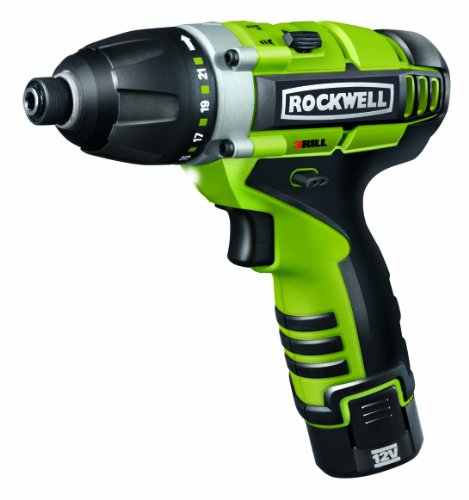 Rockwell Rk2515k2 Lithiumtech 3rill 12 Volt 3 In 1 Impact Driver