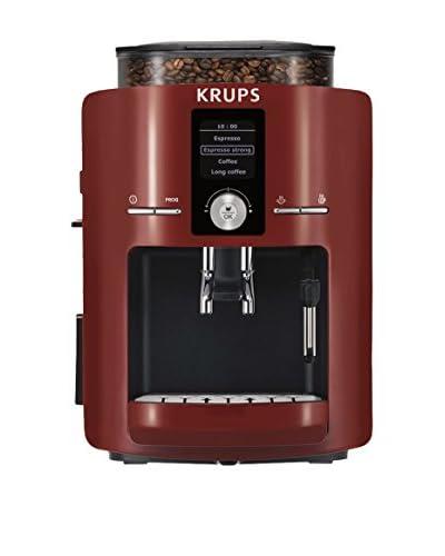 Krups Cafetera Super Automática Ea8255 (Compact Roja)