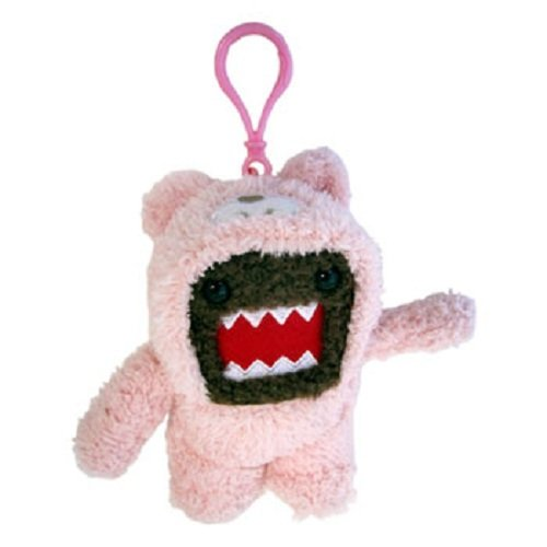 Licensed 2 Play Domo Teddy Bear Clip On (Colors May Vary)