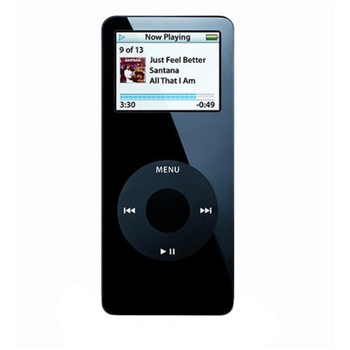 Apple iPod nano - 1st generation - digital player - flash 2 GB - AAC, MP3 - display: 1.5
