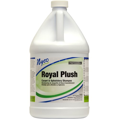 Nyco Products Nl505-G4 Royal Plush Carpet And Upholstery Shampoo, 1-Gallon Bottle (Case Of 4) front-118925