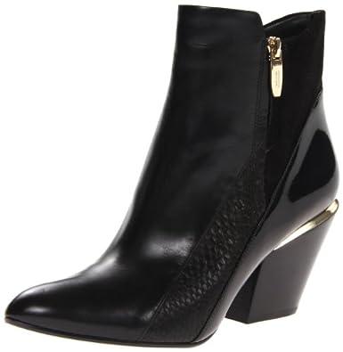 Sigerson Morrison Women's Leila Boot,Black/Black,5.5 M US