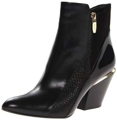 Sigerson Morrison Women's Leila Boot,Black/Black,5 M US