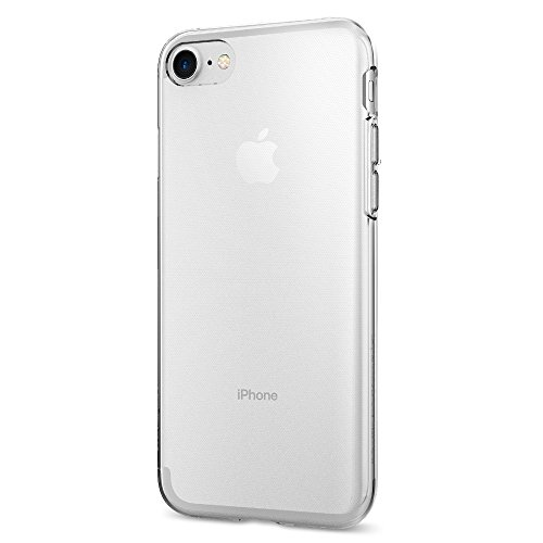 Funda iPhone 7, Spigen [Liquid Crystal] Funda Claro Cristal [Crystal Clear] Ultra fino de primera calidad semitransparente / Ajuste exacto / suave de la caja delgada, Funda Apple iPhone 7 (042CS20435)