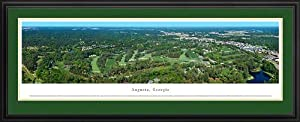 Golf Courses - Augusta - Georgia - Framed Poster Print by Laminated Visuals