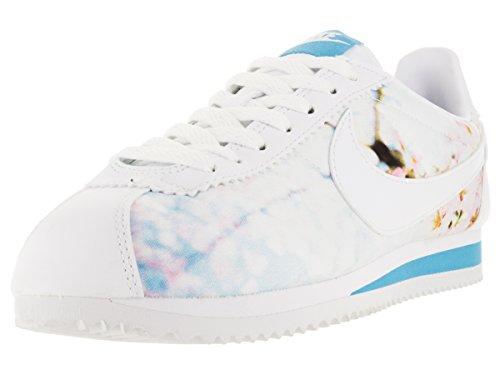 Nike Donna W Classic Cortez Cherry BLS scarpe sportive Bianco Size: 37 1/2