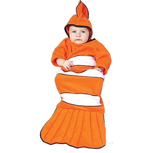 Clownfish (Clown Fish) Baby Bunting Infant Costume Size 0-6mo