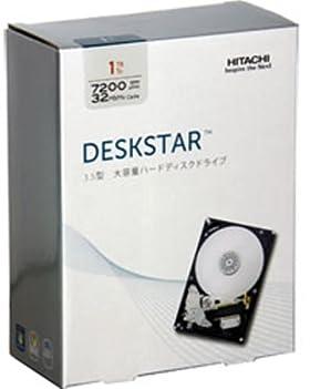 日立 HGST Deskstar パッケージ版 3.5inch 1TB 32MB 7200rpm 0S02601