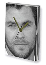 CHRIS HEMSWORTH - Canvas Clock (LARGE A3 - Signed by the Artist) #js004