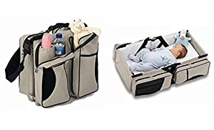 Cortunex 3 in 1 Baby Bag | Premium Quality | Carry your bundle of joy around in a 3 in 1 Baby Bed & Travel Bag,a nursery bag that converts into a comfortable carrycot.The ideal travel bag for babies! from CortunexTM