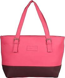Gracetop Women's Handbag (Pink, Srf-Pink)