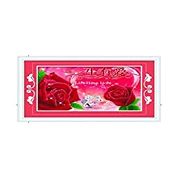 3D Diamond Stitch Love Lifelong Rose Red Forever True Love Diamond Painting Cross Stitch