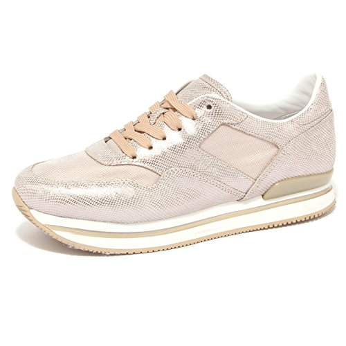 4018Q sneaker donna HOGAN scarpa beige shoes women [40]