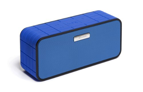 Xoundstar® Smart Wireless Bluetooth Speaker Portable, High-Fidelity Stereo Speaker With Wireless Siri Connectivity Built-In Passive Subwoofer With Two 40Mm, 5-Watt Drivers 1800 Mah 10 Hours Battery For Iphone 4/5/5S/5C,Ipad.Samsung Galaxy 4/5 And All Othe