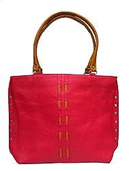 Vintage Stylish Ladies Handbag Pink(bag 9)