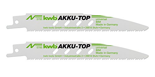kwb-akku-top-sabelsageblatt-578500-2-stuck-fur-metall-und-holzbearbeitung-bi-metall-lange-150-130