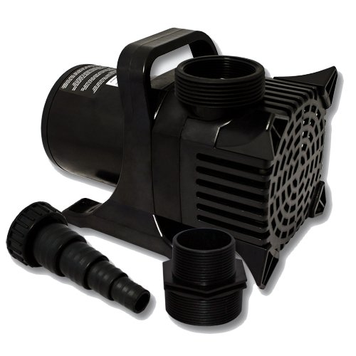 Zenblue egp 3500 3500 gph submersible pond pump with 33 for What size pond pump do i need