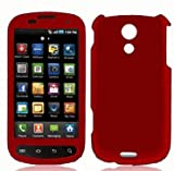 Samsung SPH-D700 Epic 4G Rubberized Shield Hard Case - Red