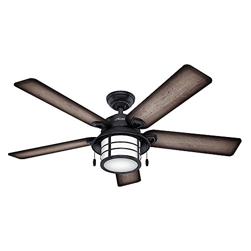 Hunter Fan Key Biscayne 54″ Weathered Zinc Ceiling Fan