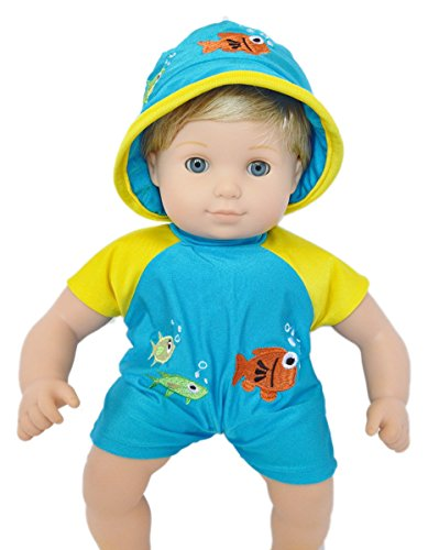 SWIMSUIT FOR BITTY TWINS BOY - 1