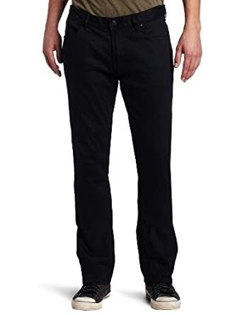 Perry Ellis Men's Reactive Dye Denim Jean, Black, 30x29
