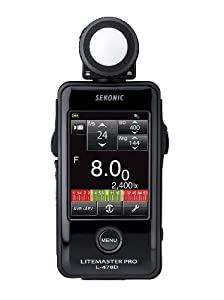 Sekonic Corporation 401-478 LITEMASTER PRO L-478D Photographic Light Meter (Black)