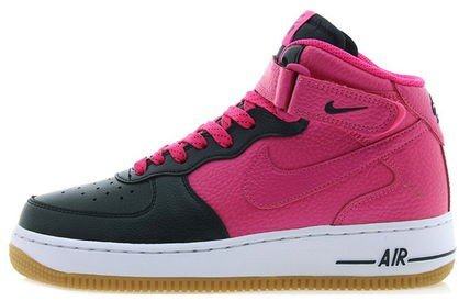Nike Youths Air Force 1 Leather Trainers