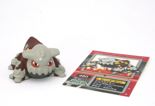 "Heatran (#460) : Pokemon Kids Diamond & Pearl Series #5 : One ~1"" to ~2"" Mini Figures and One Pokemon Sticker (Japanese Imported)"