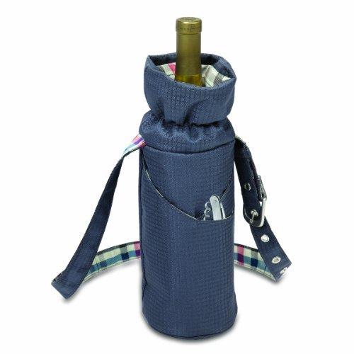 Picnic Time Carnaby Street Single Bottle Wine Duffel - 1
