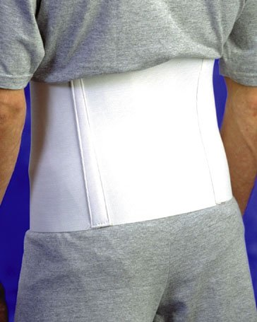 Abdominal Support - Large 8 Elastic wrap with hook & loop closure. sports elastic wrist support and protective wrap pair