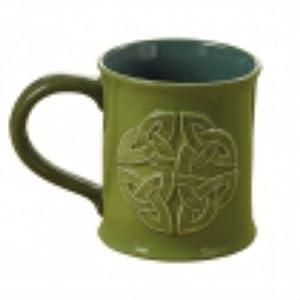 Grasslands road green celtic knot the irish for Grasslands road mugs