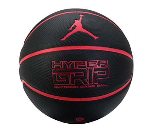 Nike 2016 Jordan Hyper Grip Outdoor Game Ball Basketball Black BB0517-066 Size 7 + Air Pump (Nike Outdoor Ball compare prices)