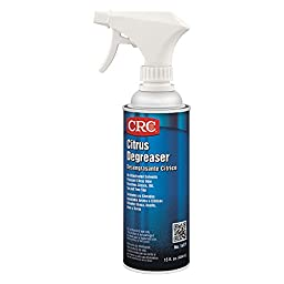 CRC Heavy Duty Citrus Liquid Degreaser, 15 oz Non-Aerosol Spray Can, Clear
