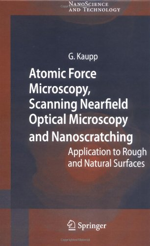 Atomic Force Microscopy, Scanning Nearfield Optical Microscopy And Nanoscratching: Application To Rough And Natural Surfaces (Nanoscience And Technology)