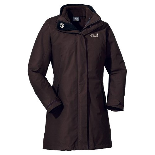 Jack Wolfskin OTTAWA COAT WOMEN coffee brown