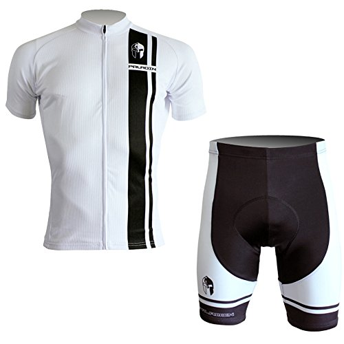 PaladinSport Men's Stripes Style Short Sleeve Cycling Set Size L (Colombia Retro Cycling compare prices)