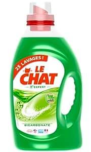 Le Chat - Expert - Lessive Liquide - Flacon 1,875 L / 25 Lavages