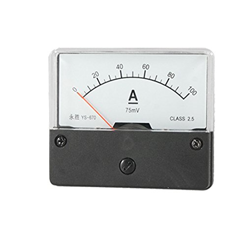 Dc 0-100A Current Range Analog Display Mini Panel Meter
