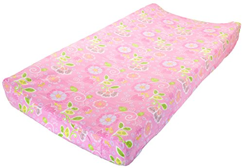 KidsLine Blossom Tails Changing Pad Cover - 1