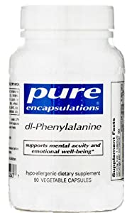 Pure Encapsulations - DL-Phenylalanine 90 VegiCaps