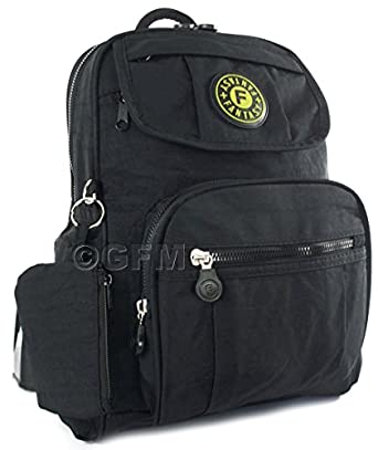 GFM Small Fabric Backpack Multi pocketed Light weight (KL-13K.)