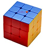 #4: Sunshine High Stability Stickerless - 3x3x3 Speed Cube, Multi Color