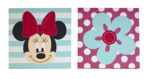 Disney Minnie Wall Art, 2 Count
