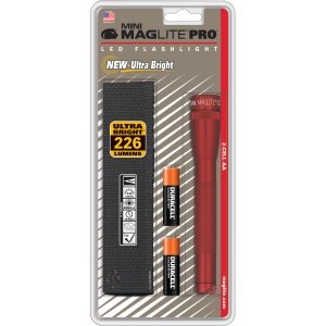 Mini Maglite Pro Led Red 2 Cell