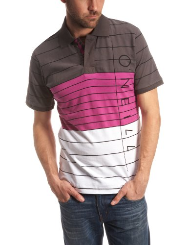 O'Neill Tube Polo Mens Top Purple AOP Small