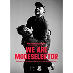 We Are Modeselektor [Blu-ray]