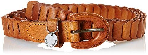 Pepe Jeans JOE BELT-Cintura Donna    Marrone (Tan) 105 cm
